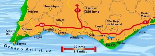 Cartina Geografica Algarve.Go Faro Way Bristol Rovers Supporters Club